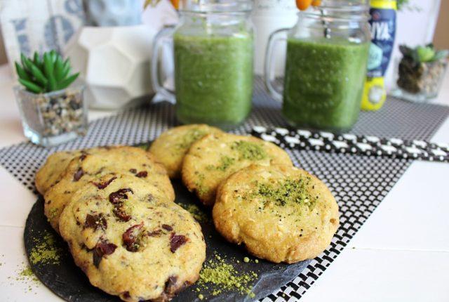 Matcha Cookies und Detox Smoothie